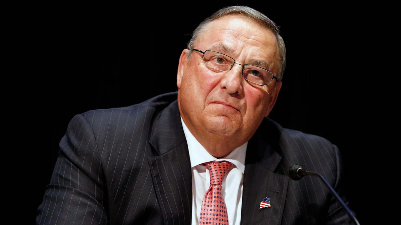 In this June 7, 2016, file photo, Maine Gov. Paul LePage attends an opioid abuse conference in Boston.