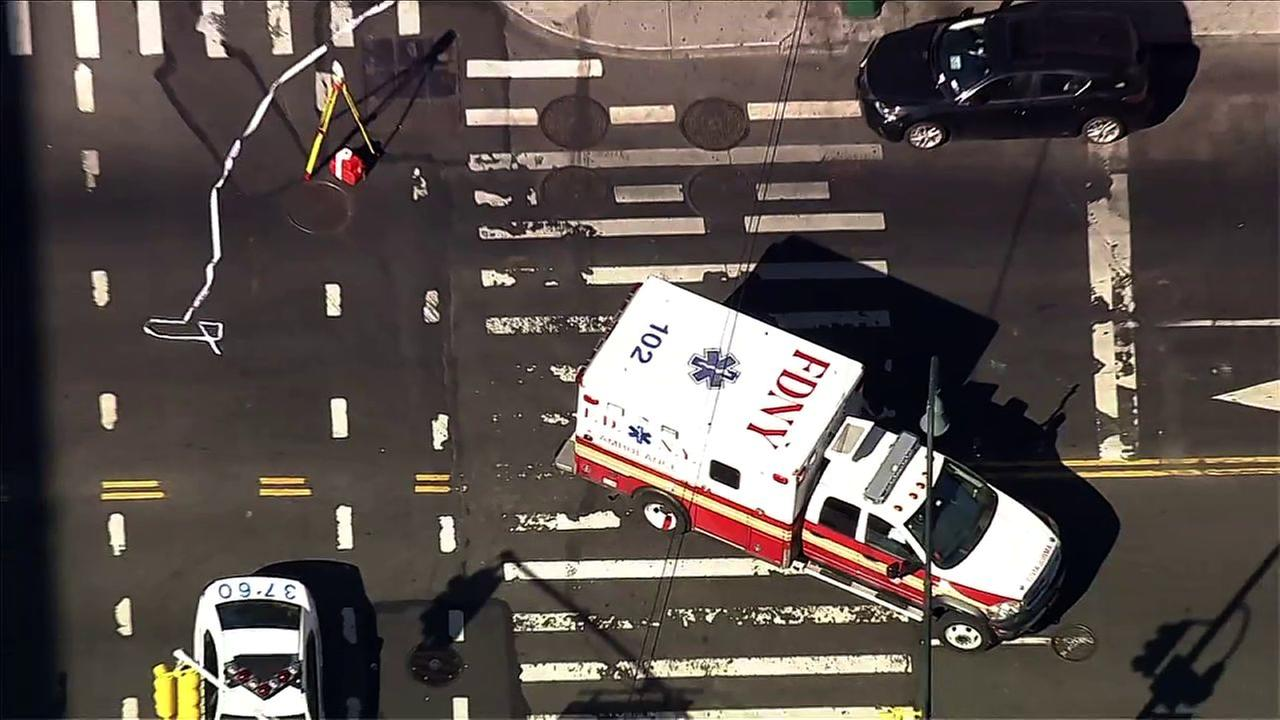 FDNY ambulance hits pedestrian in East Village, NYPD says