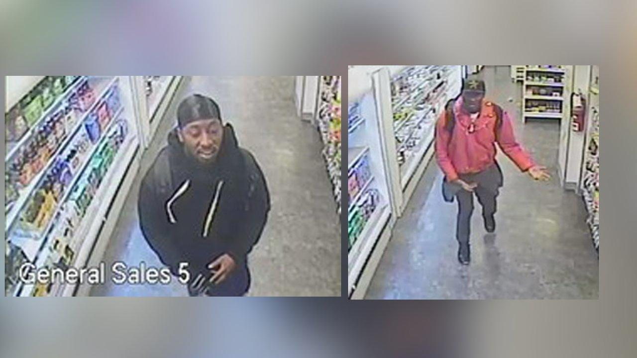 Police searching for 2 suspects in theft of ice cream and energy drinks from Manhattan stores