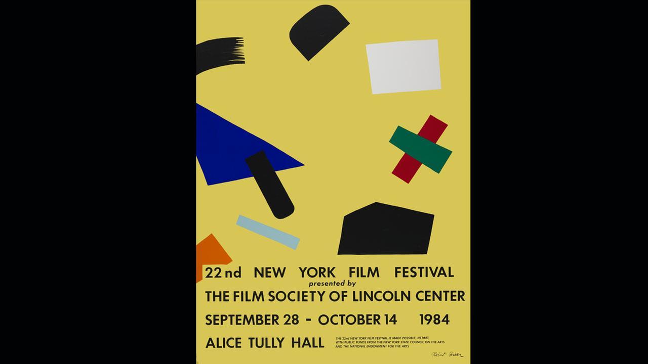 Poster Artist: Robert Breer. 1984Film Society of Lincoln Center