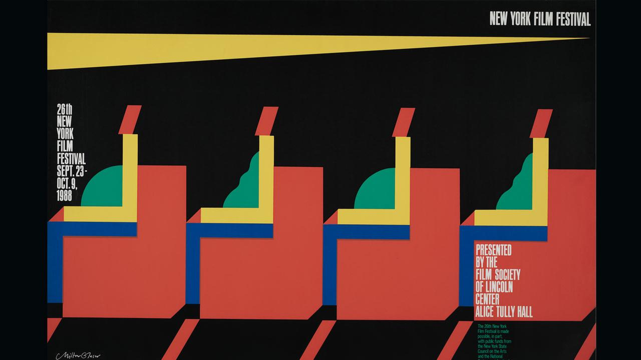 Poster Artist Milton Glaser. 1988Film Society of Lincoln Center