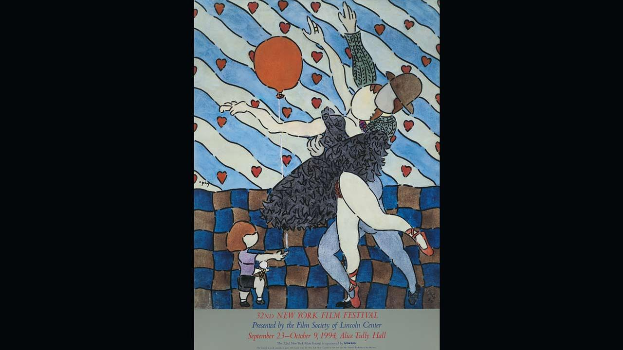 Poster Artist: William Copley. 1994Film Society of Lincoln Center