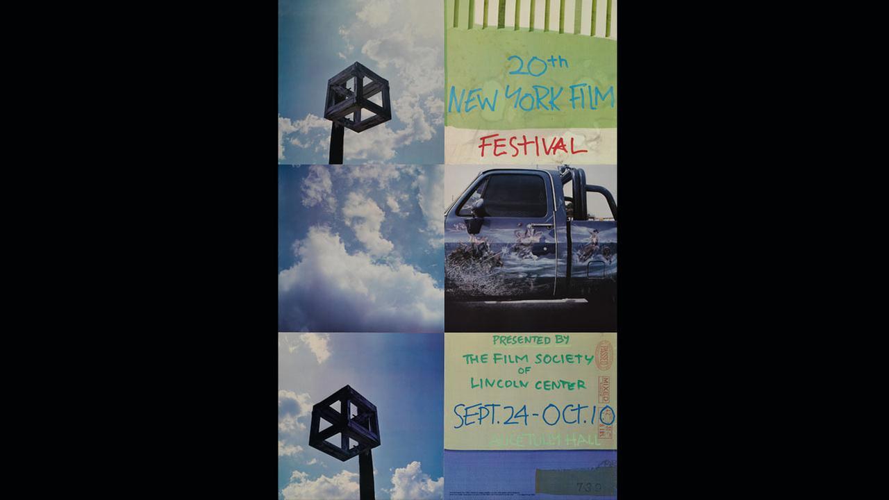 Poster Artist: Robert Rauschenberg. 1982Film Society of Lincoln Center