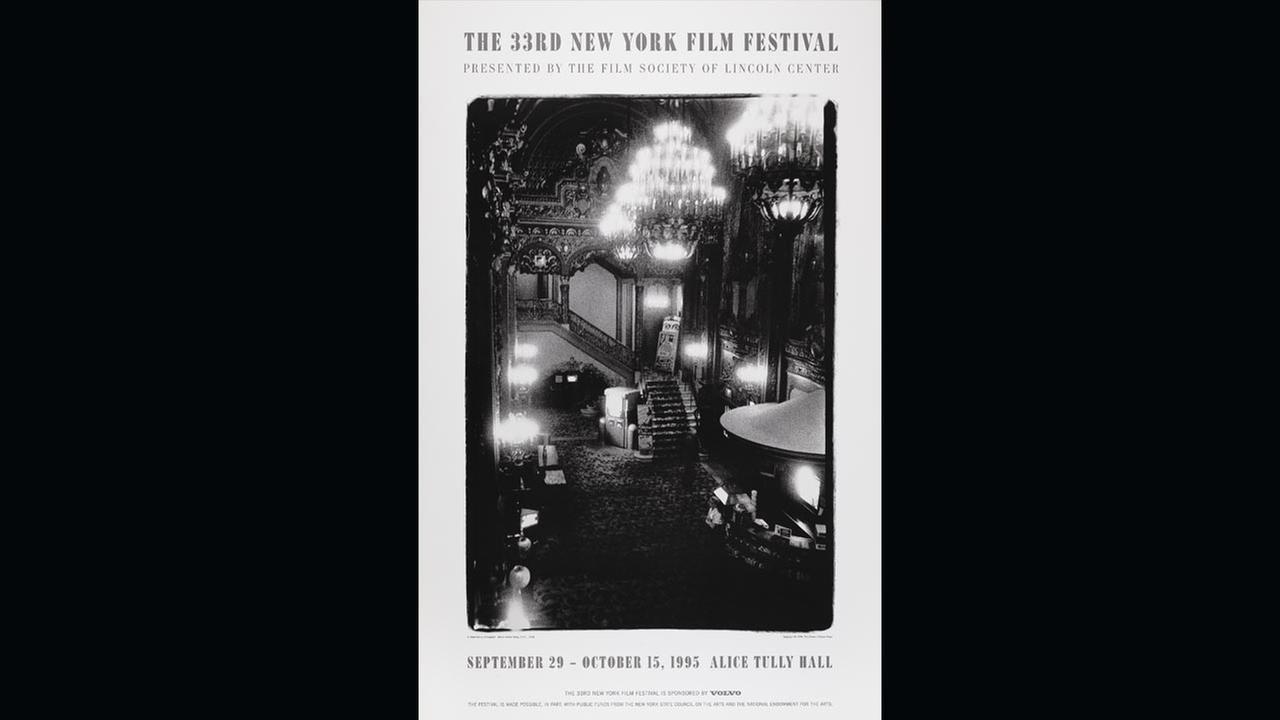 Poster Artist: Diane Arbus. 1995Film Society of Lincoln Center