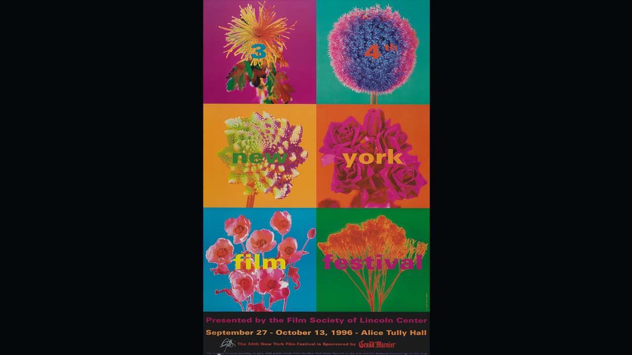 Poster Artist: Juan Gatti. 1996Film Society of Lincoln Center
