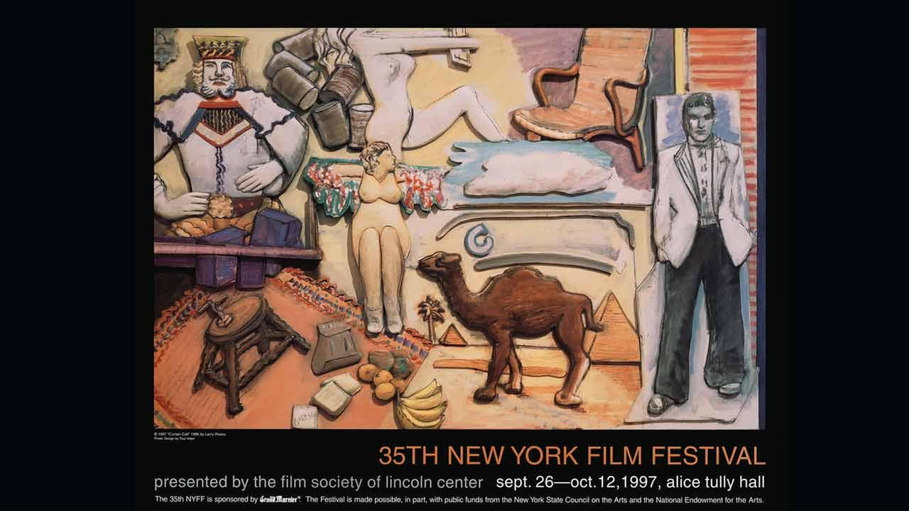 Poster Artist: Larry Rivers. 1997Film Society of Lincoln Center