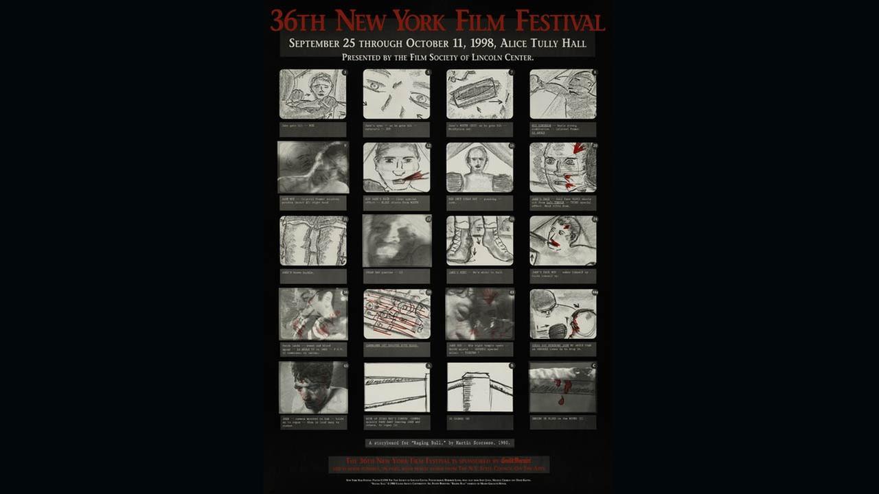 Poster Artist: Martin Scorsese. 1998Film Society of Lincoln Center