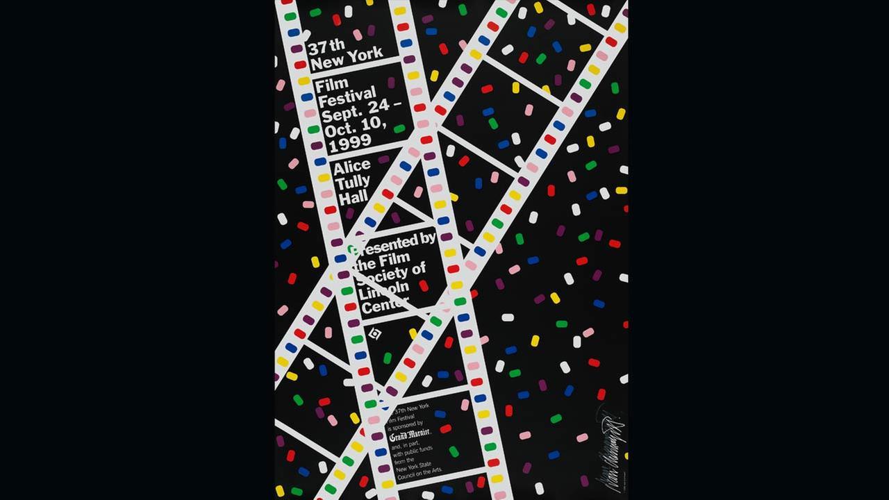 Poster Artist: Ivan Chermayeff. 1999Film Society of Lincoln Center