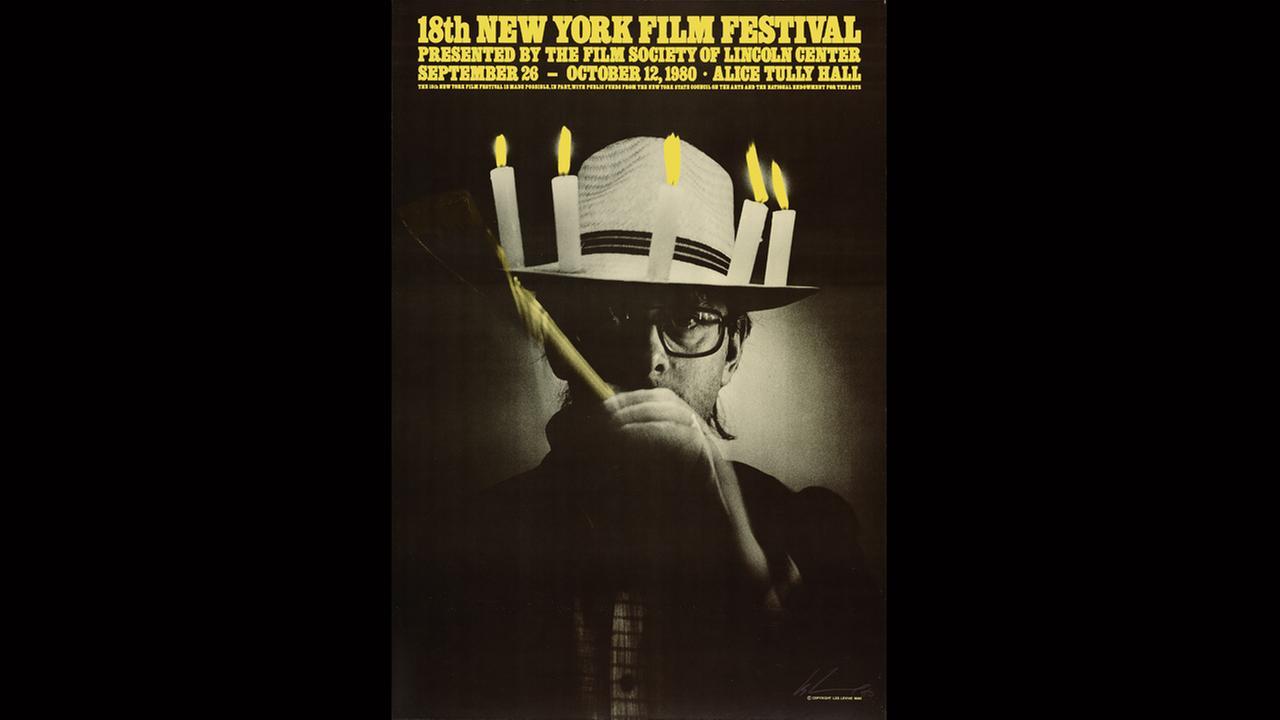 Poster Artist: Les Levine. 1980Film Society of Lincoln Center