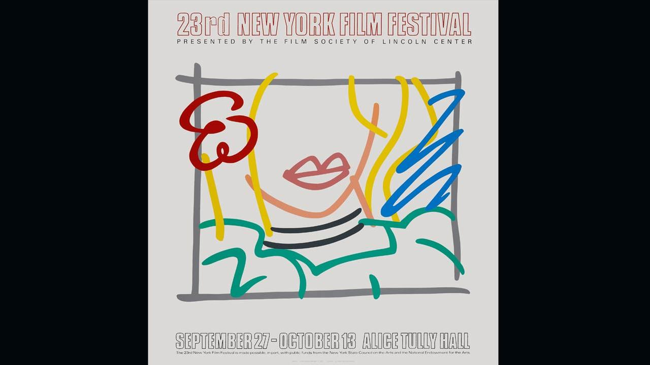 Poster Artist: Tom Wesselmann. 1985Film Society of Lincoln Center
