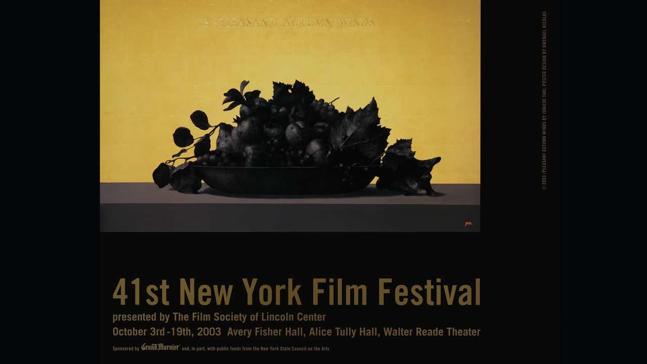 Poster Artist: Junichi Taki. 2003Film Society of Lincoln Center