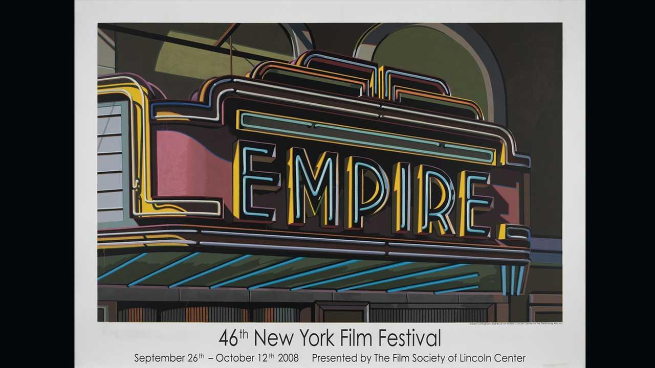 Poster Artist: Robert Cottingham. 2008Film Society of Lincoln Center