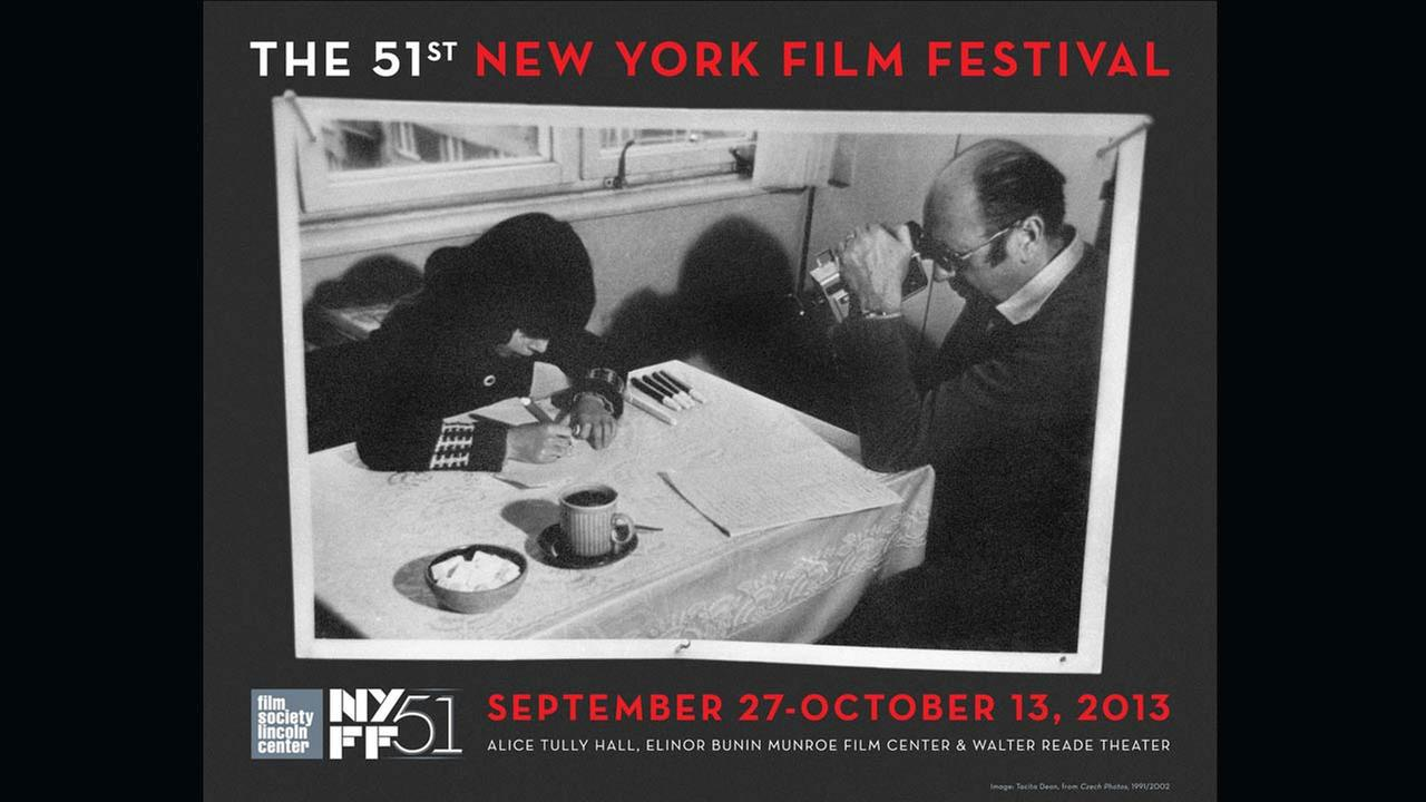 Poster Artist: Tacita Dean. 2013Film Society of Lincoln Center