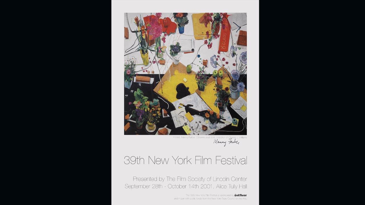 The artists and imagery of the New York Film Festival: Annual posters through the years.Film Society of Lincoln Center