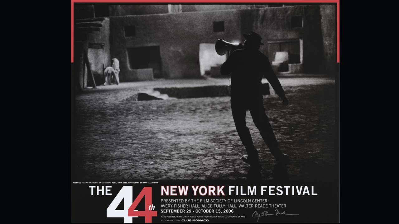 Poster Artist: Mary Ellen Mark. 2006Film Society of Lincoln Center