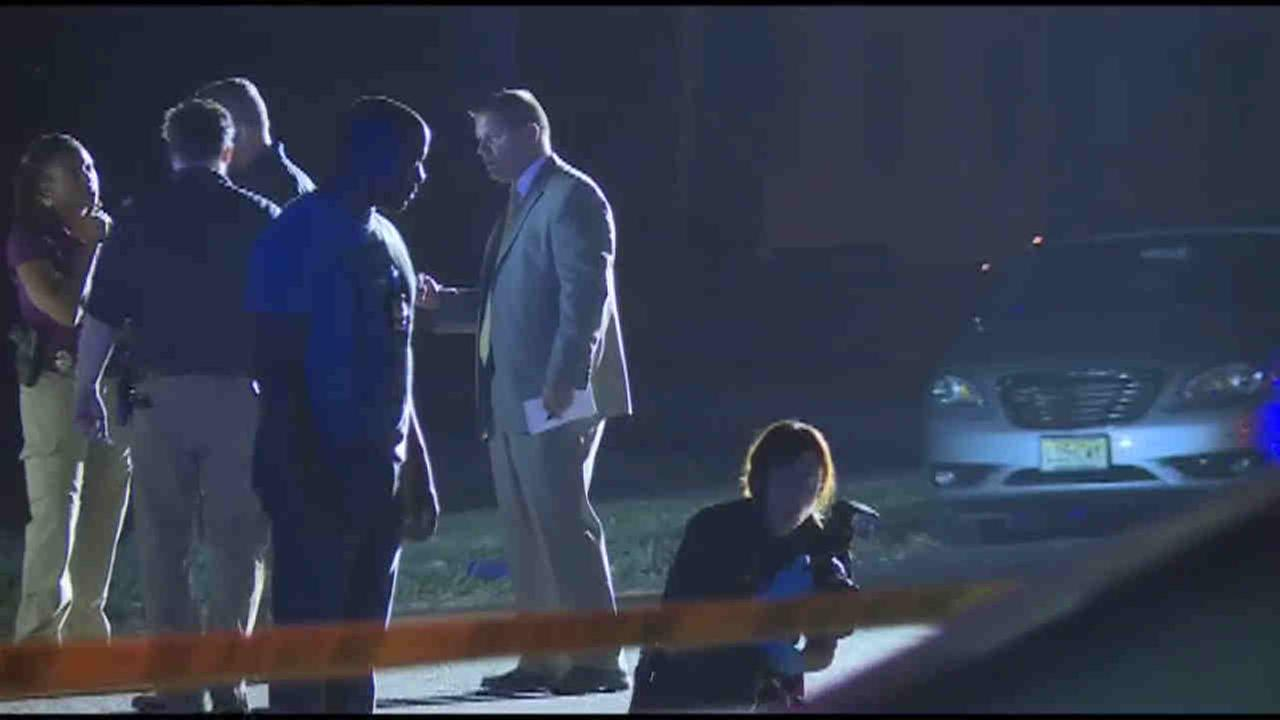 Up to four people were shot, one fatally, in gunfire on a Plainfield street Wednesday night.