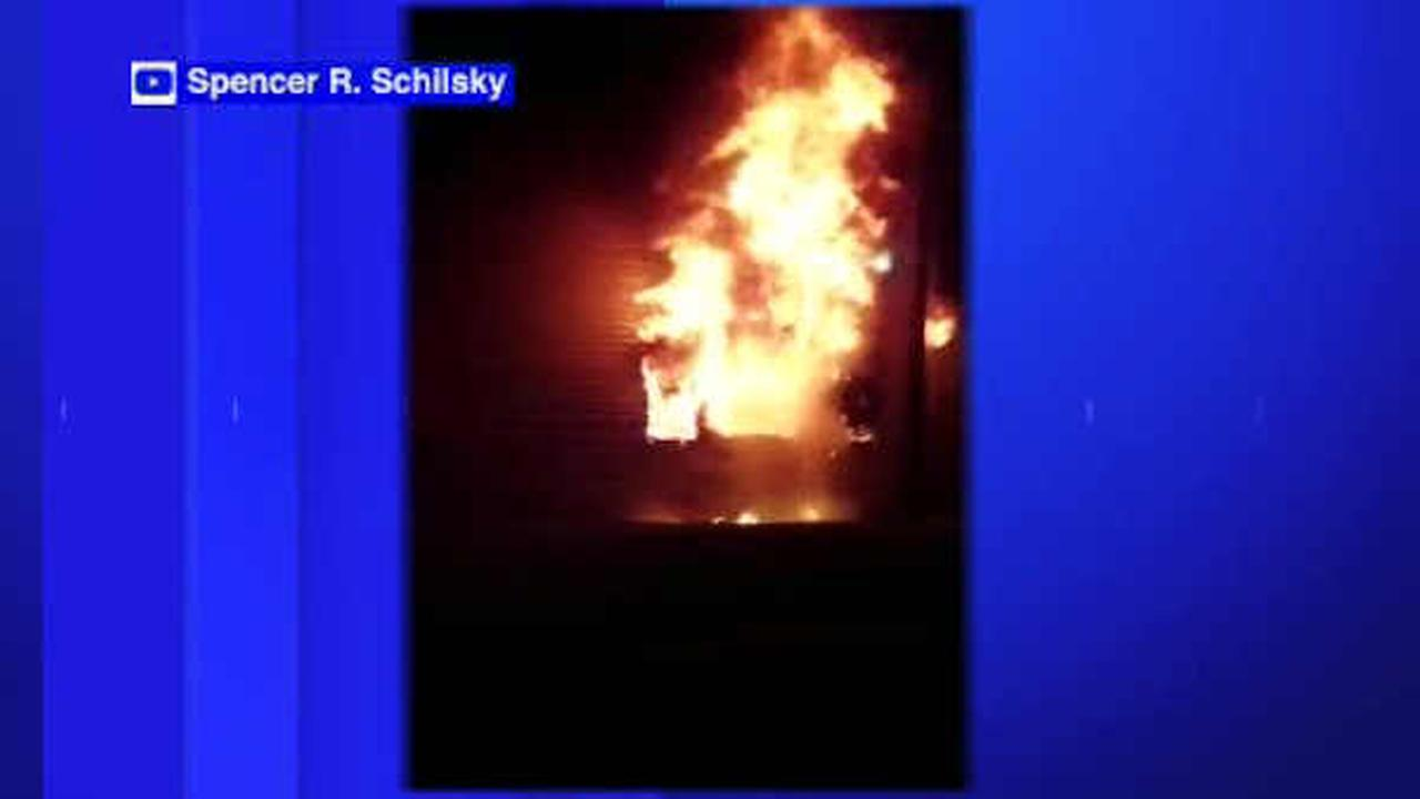 Fire damages dorm rooms at SUNY Purchase