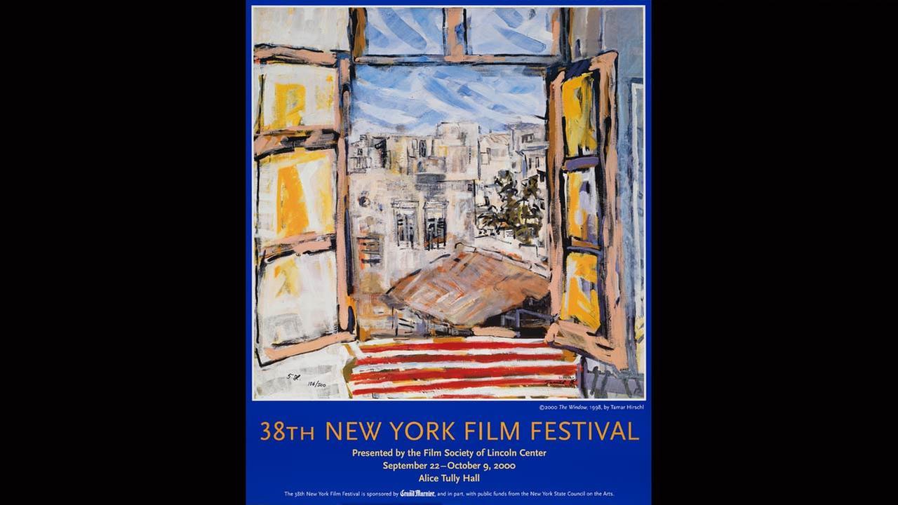 Poster Artist: Tamar Hirschl. 2000Film Society of Lincoln Center