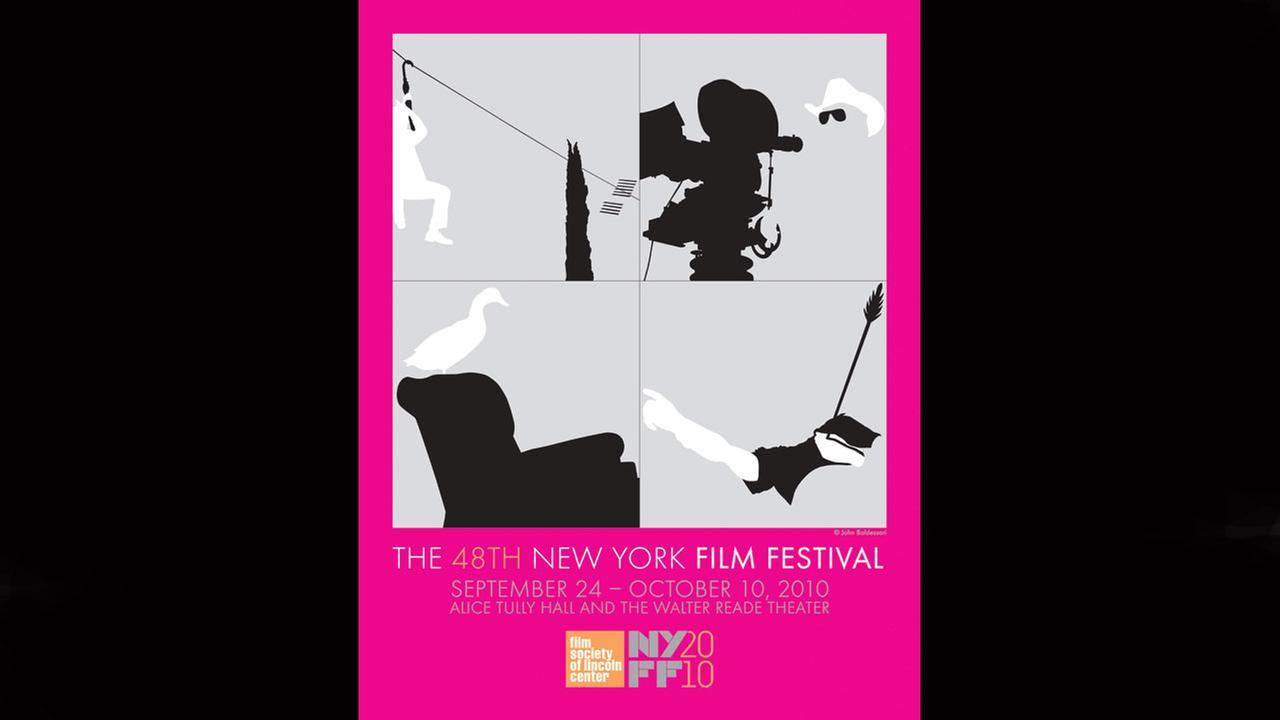 Poster Artist: John Baldessari. 2010Film Society of Lincoln Center