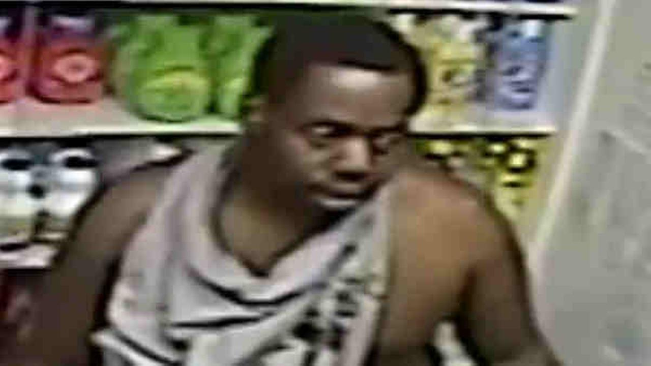 A man is wanted for robbing 2 people at the same Queens laundromat in 2 different incidents.
