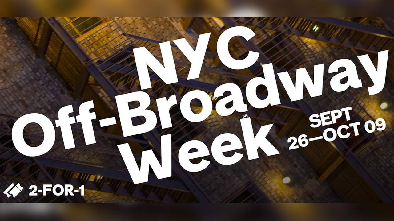 Tickets for New York City's Off-Broadway Week go on sale Monday