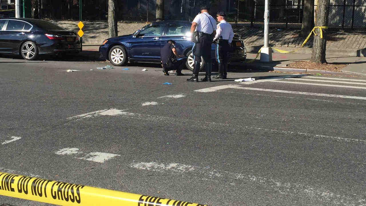 A boy, about 12, was struck at Dahill and Cortelyou roads in Brooklyn just before 7 a.m.