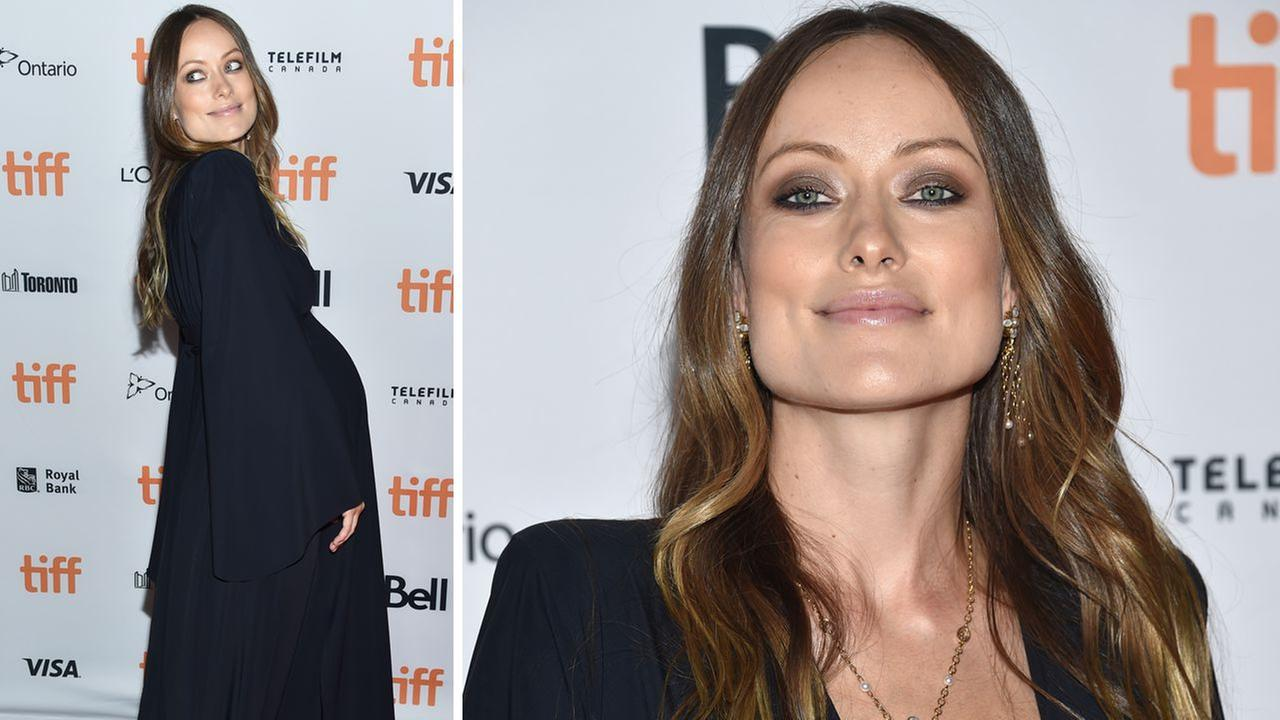 Olivia Wilde arrives at the Colossal premiere on day 2 of the Toronto International Film Festival at the Ryerson Theatre on Friday, Sept. 9, 2016, in Toronto.
