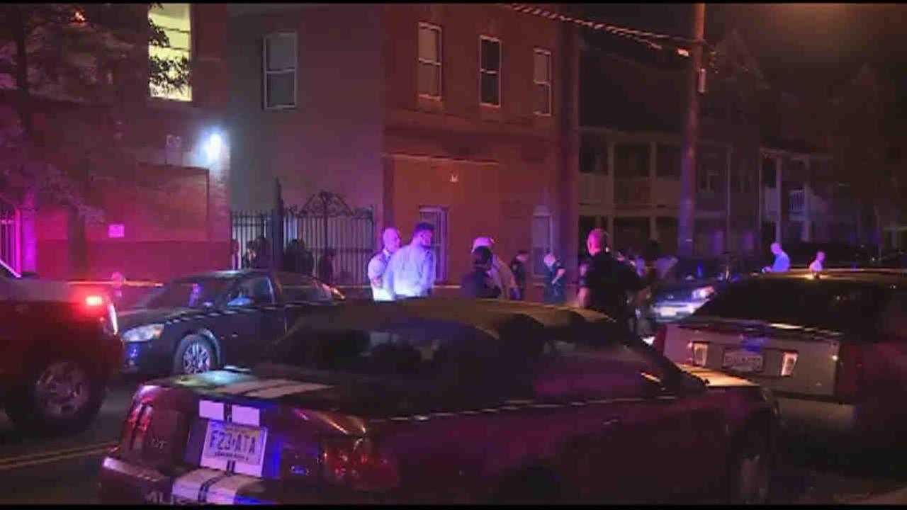 Two people were shot, one fatally, in Elizabeth Thursday night.