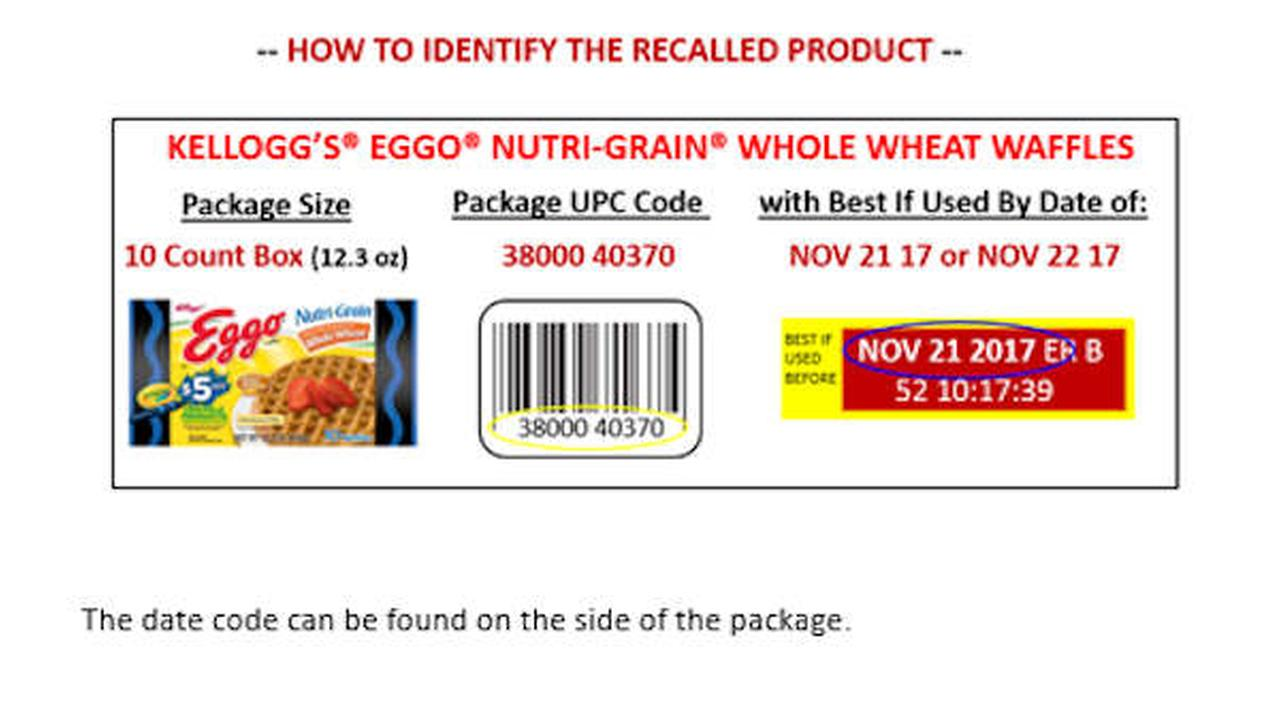 Kellogg recalls some Eggo waffles over listeria fear