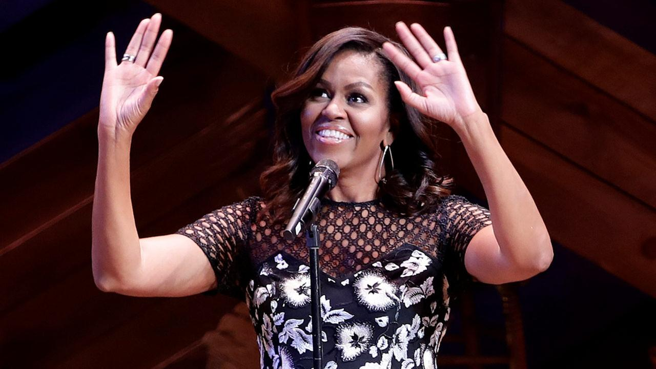 Michelle Obama on Broadway