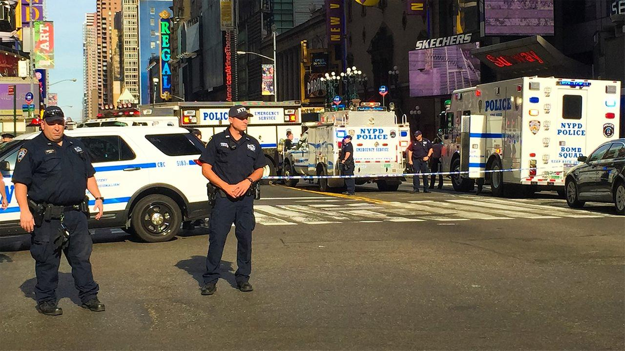 new york city suspicious package