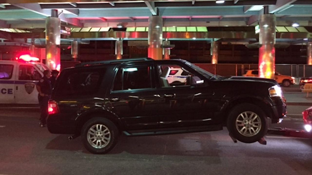 SUV that caused LaGuardia scare was left by unlicensed livery driver