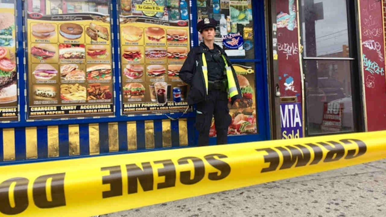 A deli worker was fatally shot Saturday morning in Queens.