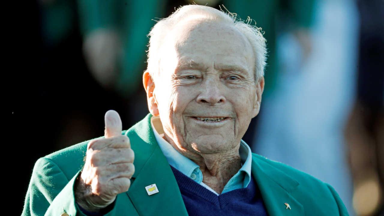 Golf legend Arnold Palmer dies at 87