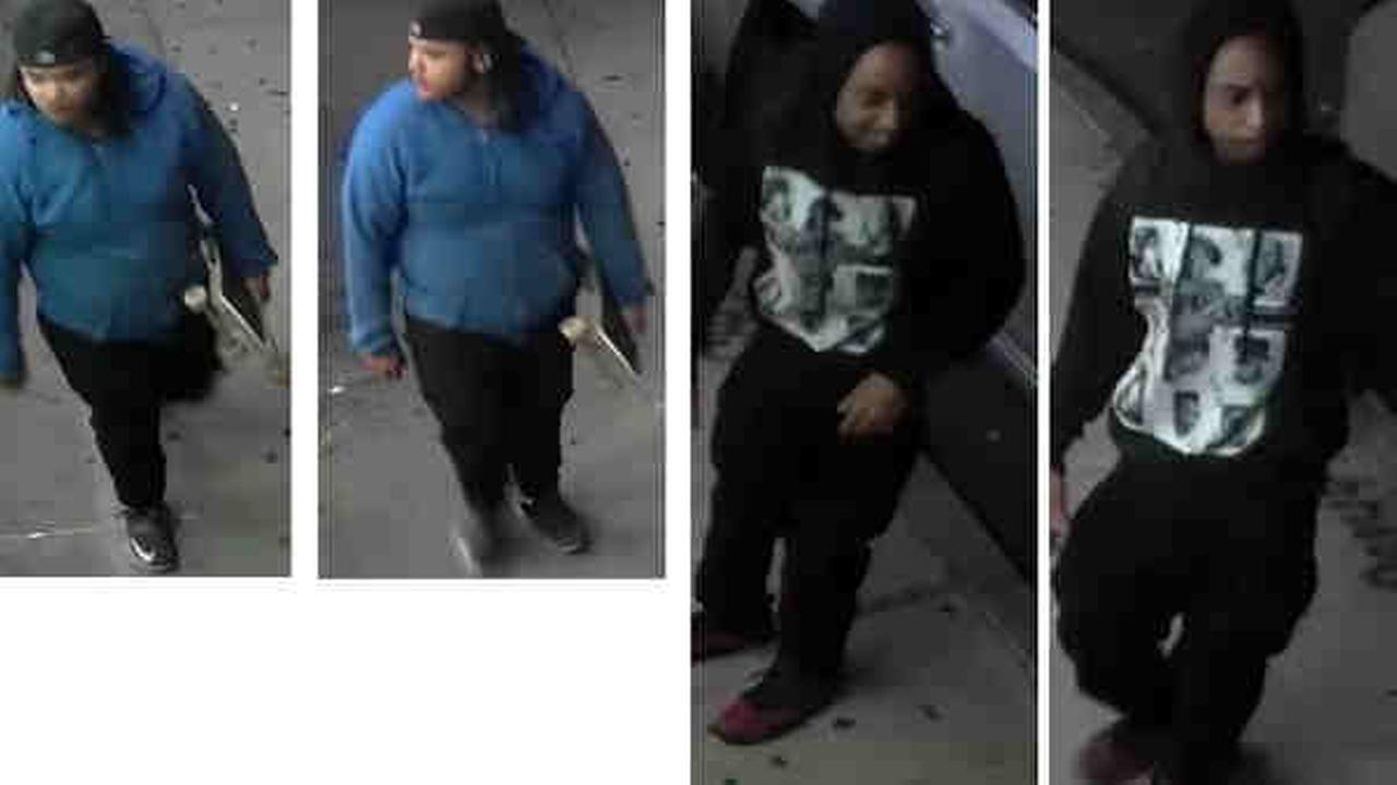 Police are looking for two men wanted in connection with a series of robberies in Williamsburg.