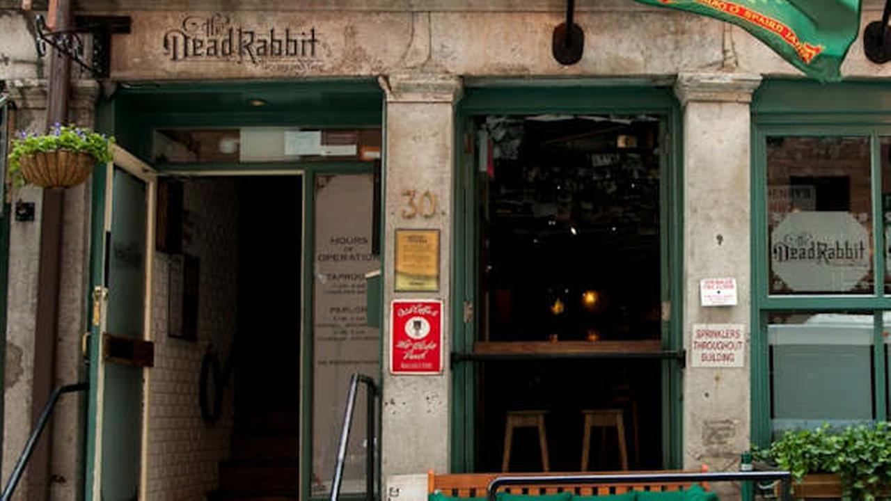 New York City's Dead Rabbit Grocery & Grog tops Best Bars in the World 2016 list
