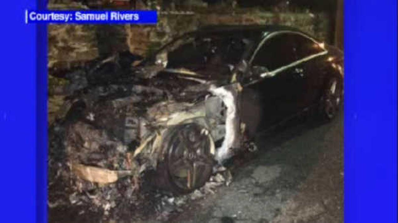 Community activist claims he was targeted in Mount Vernon car fire
