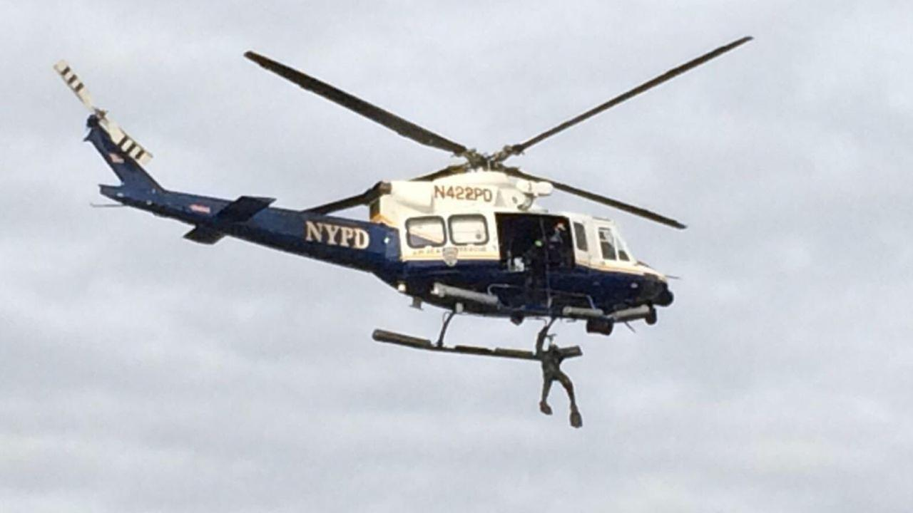 Boat capsizes at Fire Island Inlet; 1 person missing in water
