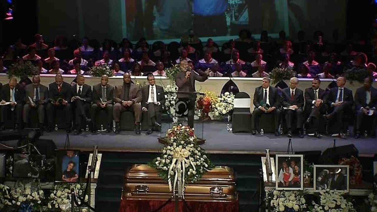 A funeral was held Saturday for Brooklyn District Attorney Ken Thompson.