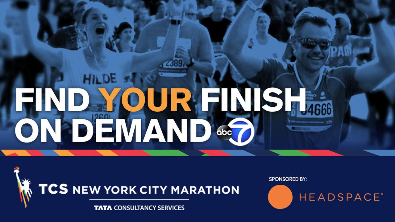 Find Your Finish! Watch runners cross the line in the 2016 TCS New York City Marathon!