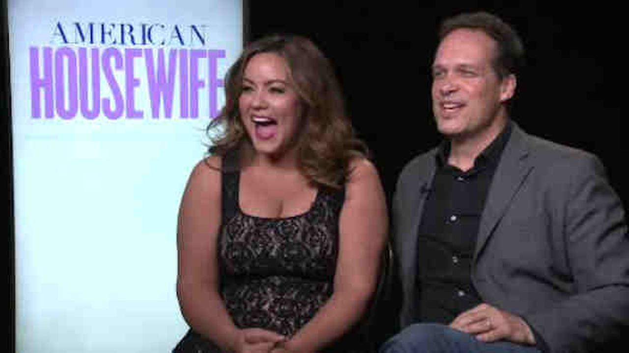 American Housewife premieres Tuesday night, starring Katy Mixon and Diedrich Baeder.