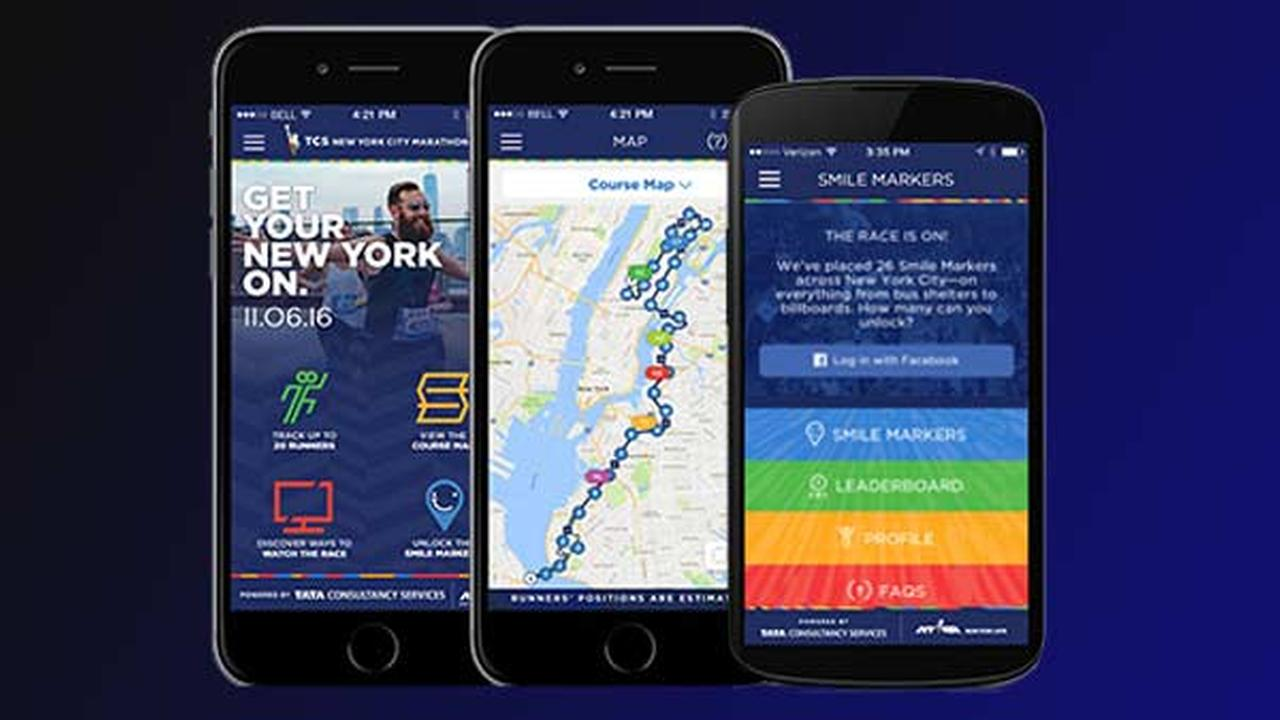 Mobile app and Runner Tracking: TCS New York City Marathon