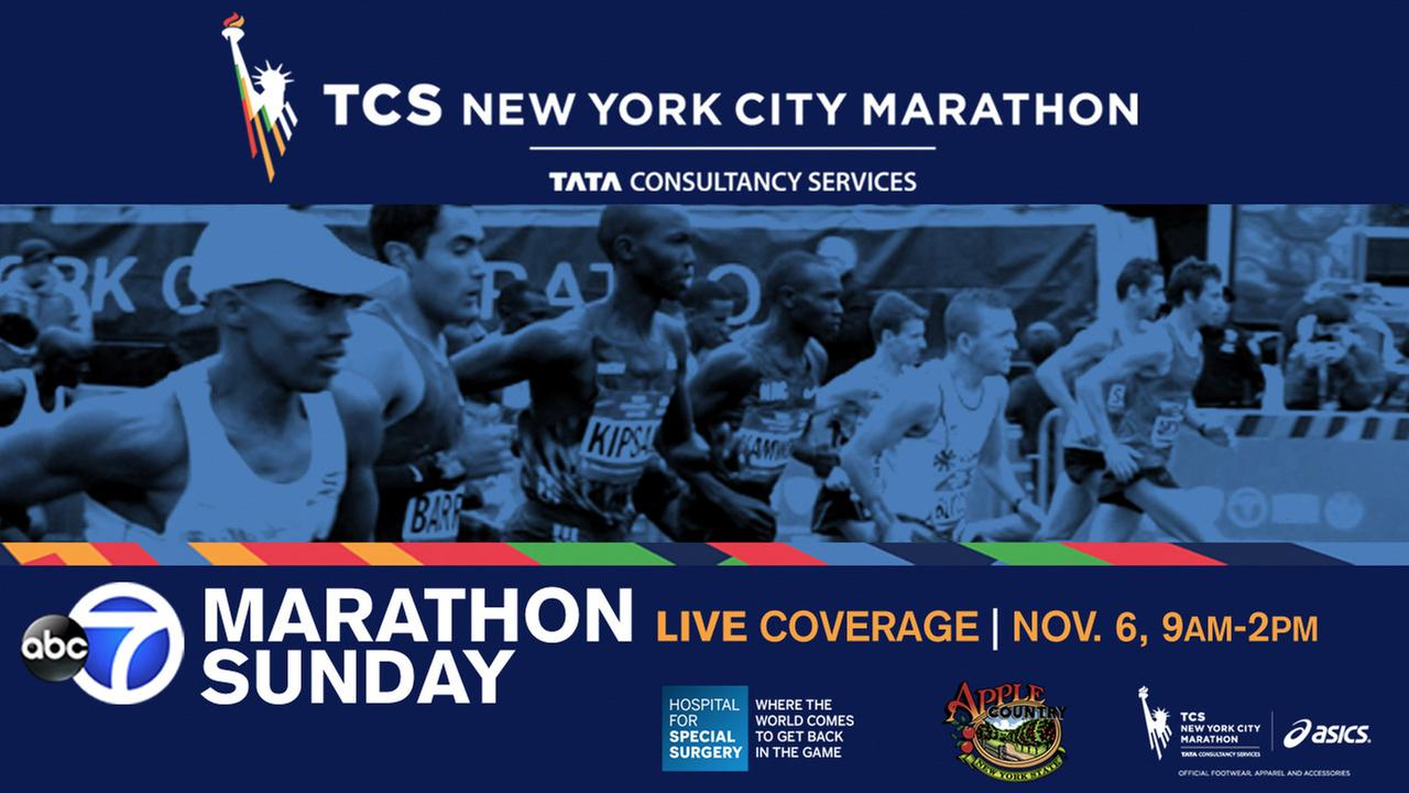 ABC7 is your home for the 2016 TCS New York City Marathon