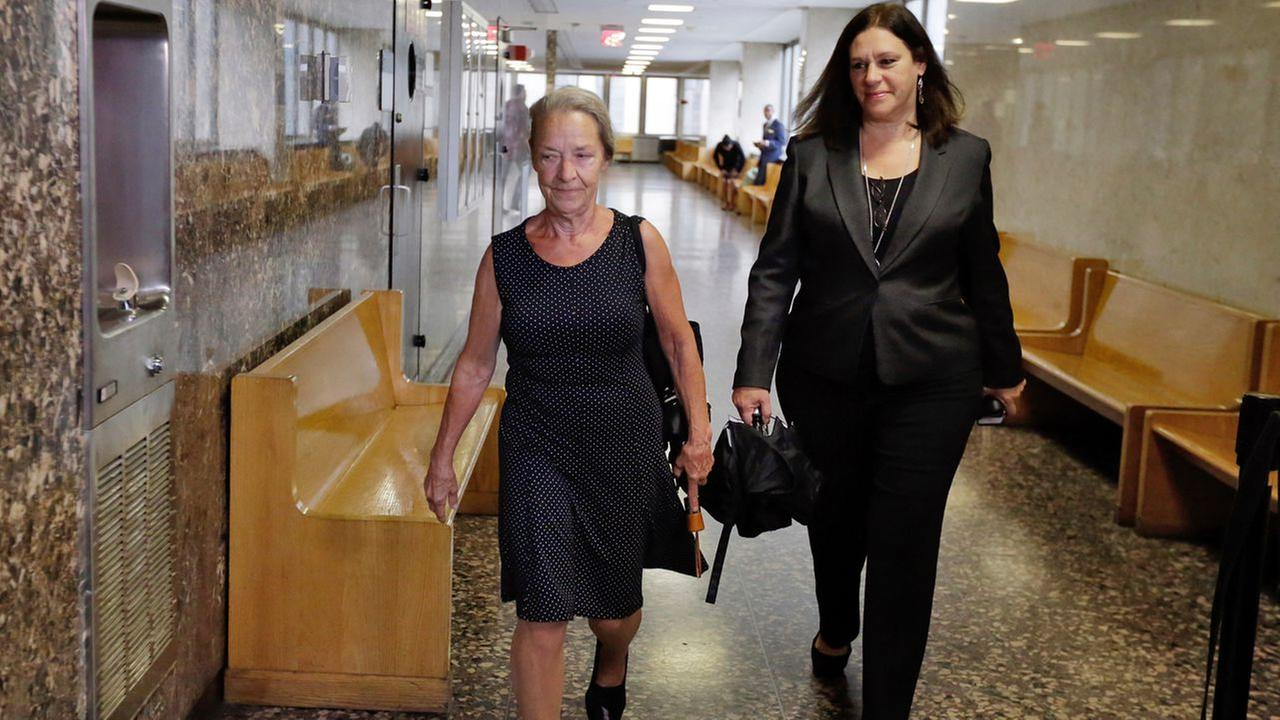 ulie Patz, left, mother of Etan Patz, arrives at court in New York with Assistant District Attorney Joan Illuzzi-Orbon, to testify in the retrial of Pedro Hernandez, Oct. 21, 2016.