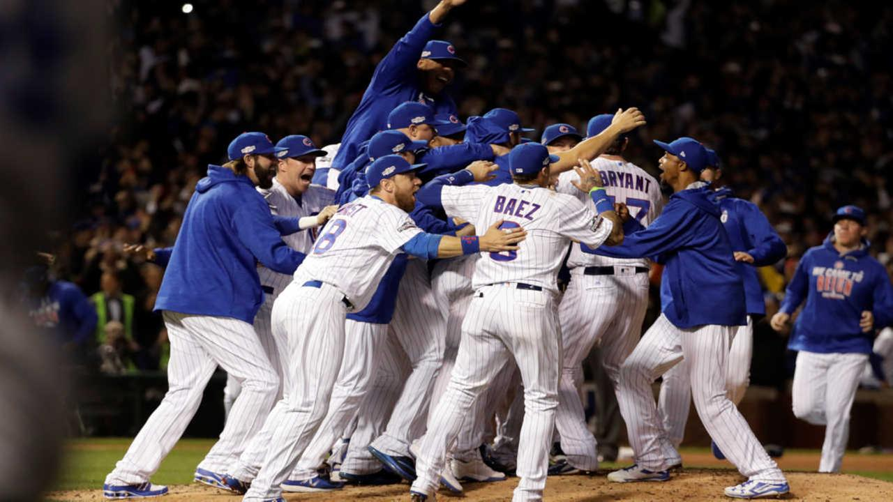Cubs headed to World Series for first time since 1945