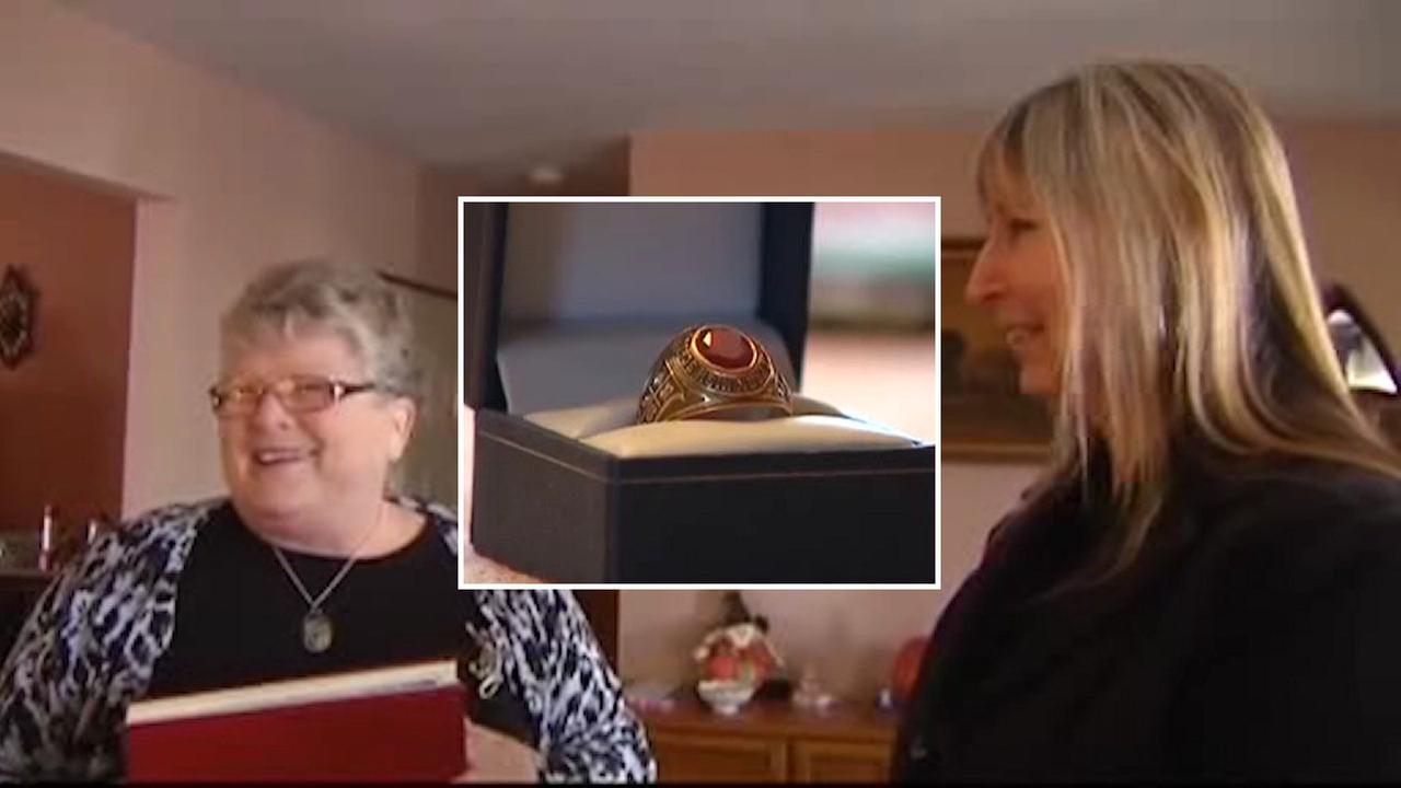 Class ring returned to owner decades later