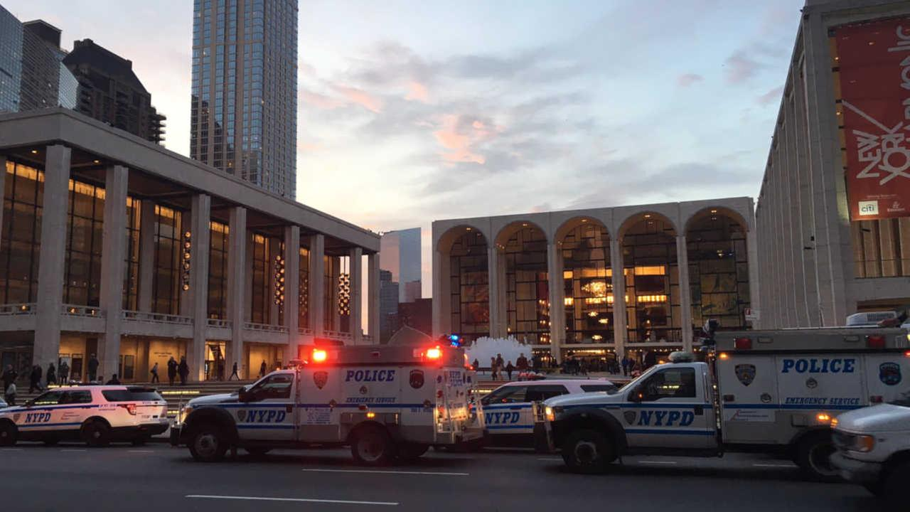 NYPD: Man who sprinkled substance at Met Opera 'wanted to sprinkle ashes of mentor'