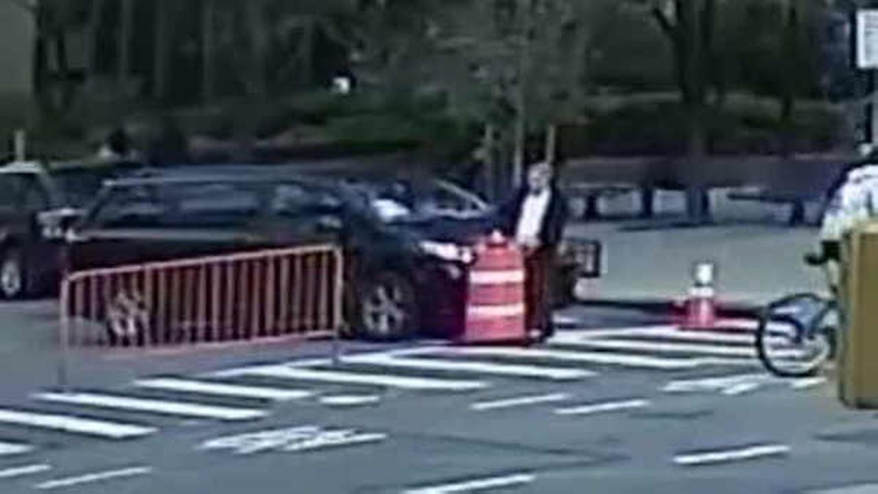 Suspect arrested in hit and run crash near Queens Midtown Tunnel