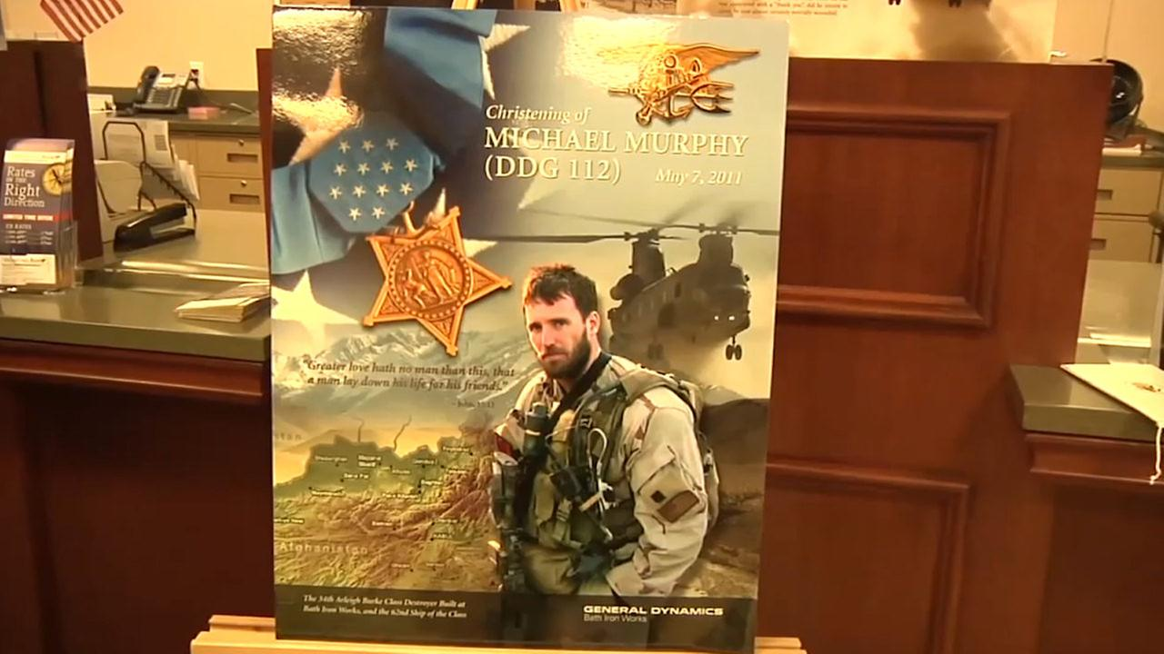 Pre-Veterans Day event honors Navy Seal Michael Murphy on Long Island