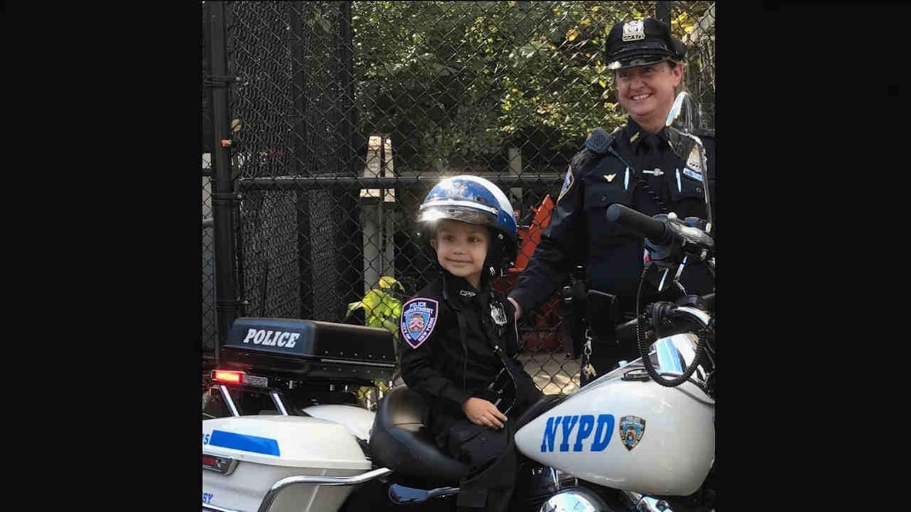 On Friday, the men, and especially the women, of the NYPD rolled out a huge red carpet for Karma, making her an honorary officer in the Central Park precinct.